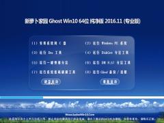 新萝卜家园Ghost Win10 x64位 完美纯净版V201611(免激活)