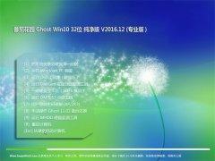 番茄花园Ghost Win10 x32位 精选纯净版2016.12月(自动激活)