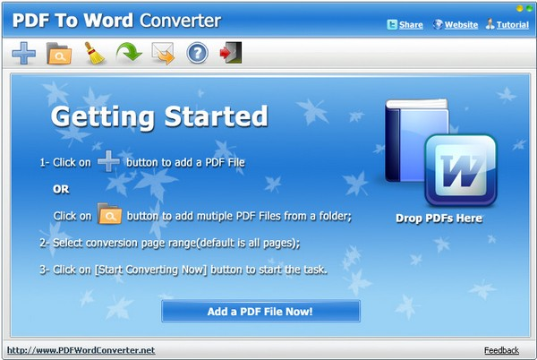 PDF to Word Converter(PDF转Word转换器) V3.0 绿色版