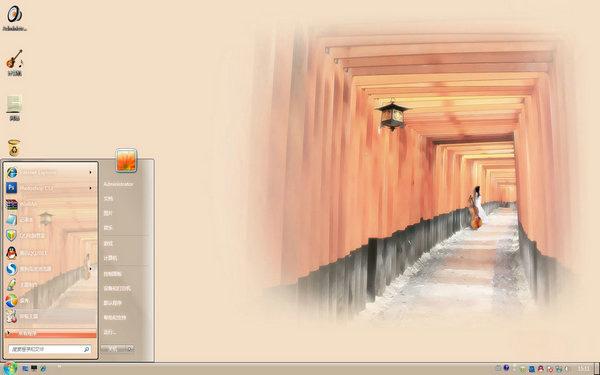 记忆的回廊W8主题