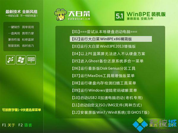 大白菜u盘系统安装步骤 图3
