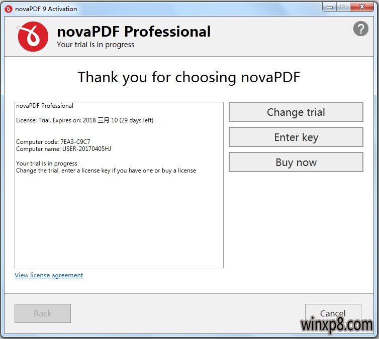 novaPDF(PDF文档创建) V9.1.231