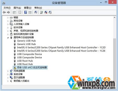 没有安装USB3.0驱动的状态