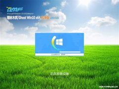 雨林木风Ghost Win10 X64位 多驱动纯净版V2019.03月(自动激活)